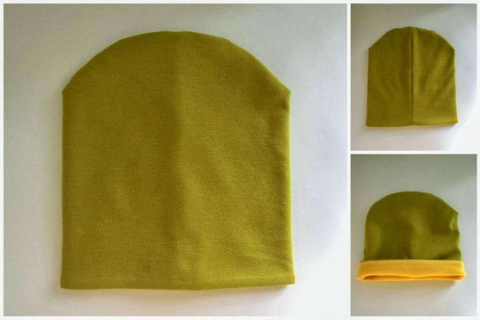Как сделать трикотажную шапочку