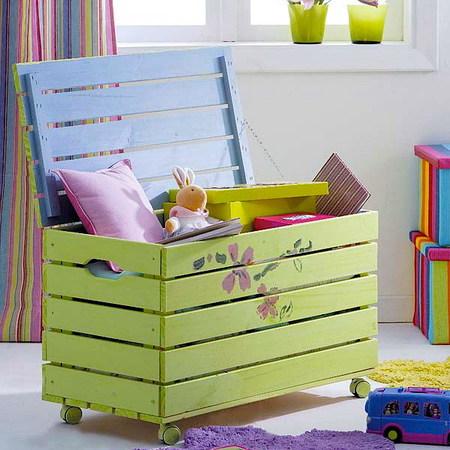 Где хранить игрушки в детской? 8 отличных идей фото 1