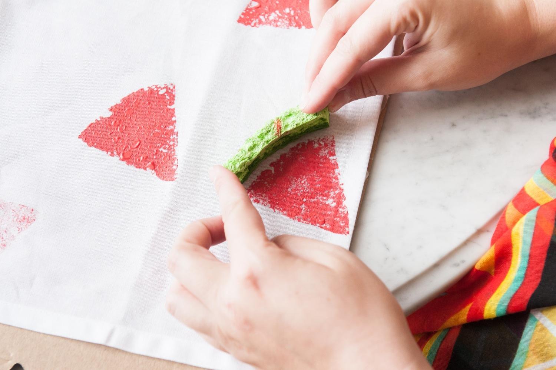 Салфетки рисунки своими руками