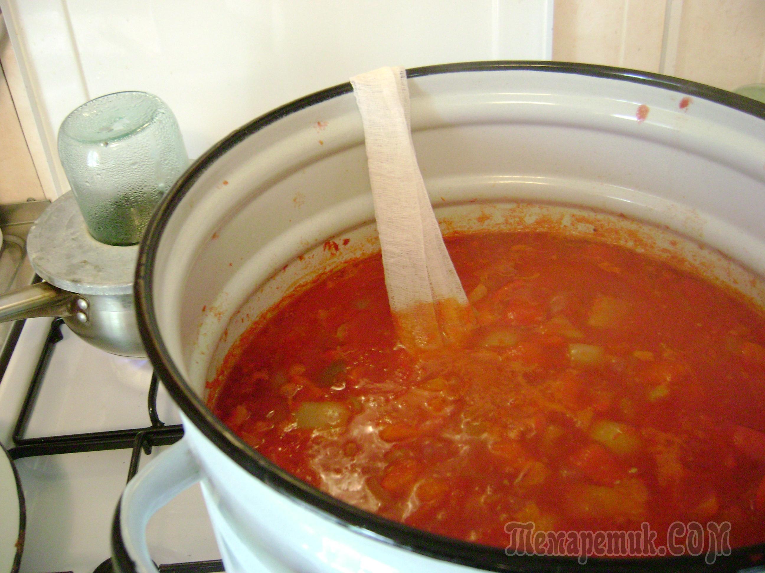 Лечо 1 кг помидор 1 кг перца