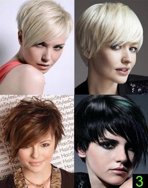 Короткие прически тонких и редких волос