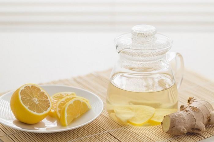 Рецепт для очищения с лимоном и имбирем