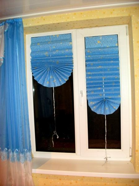 Жалюзи на окна из бумаги