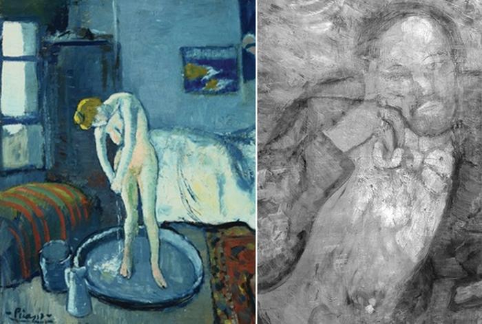 Голубая комната. Пикассо.