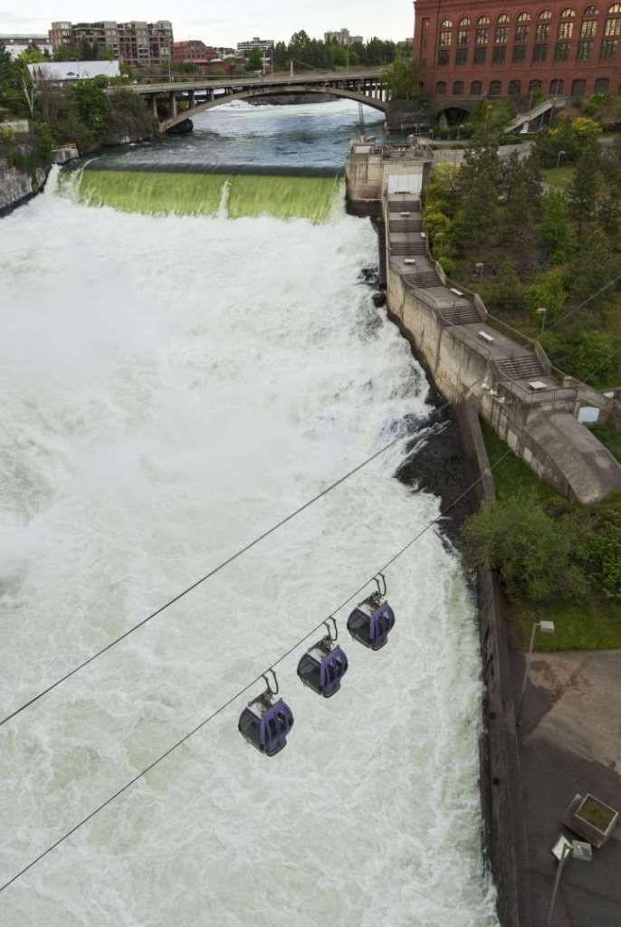 Spokane Falls SkyRide, ���. �������� ������, ���, �����������