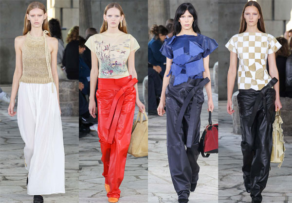 Модные широкие брюки весна-лето 2015