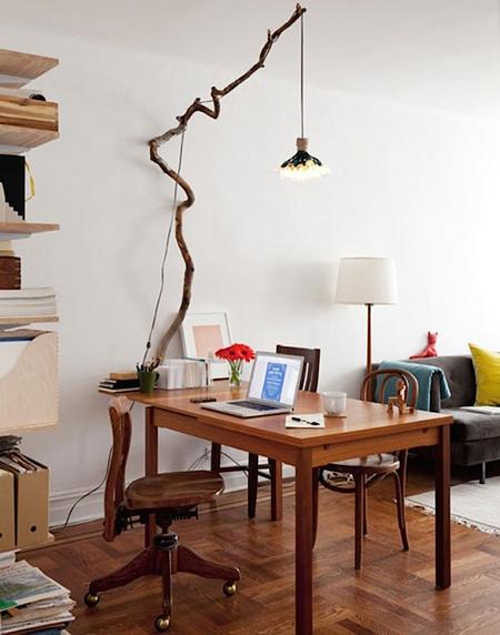 20 креативных идей для дома с обычными ветками фото 11