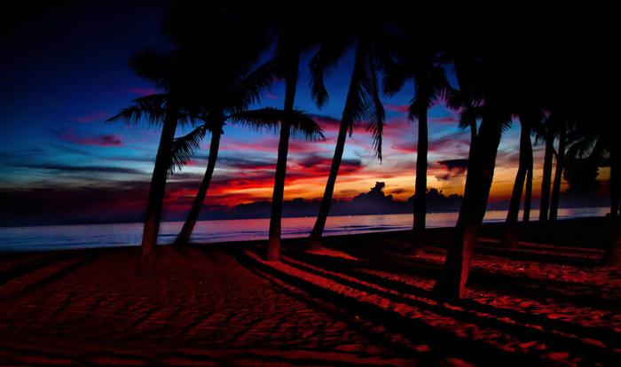 Пляж Кура Дай. Автор фото: Rehahn.