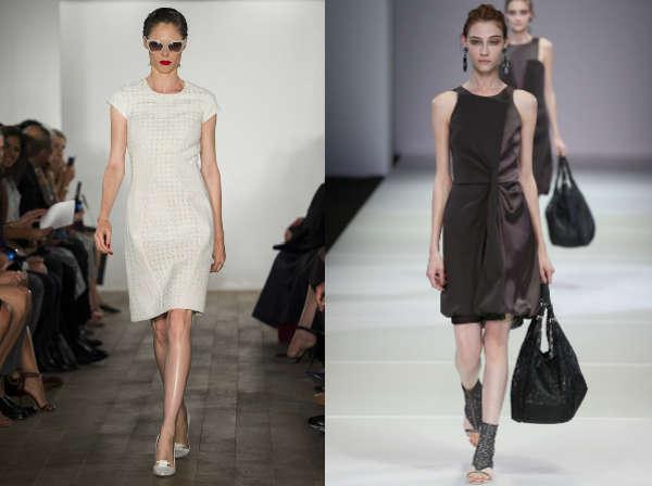 Модные платья для офиса весна-лето 2015