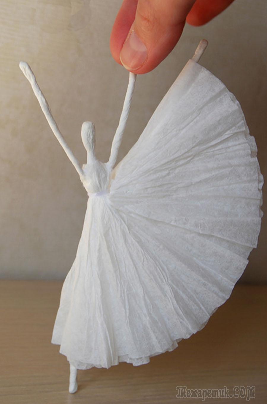 Поделки своими руками балерина фото