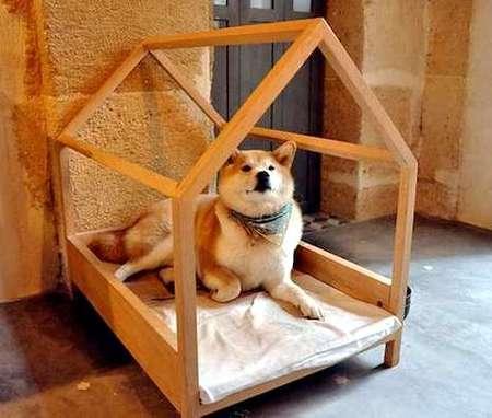 12 креативных домиков, которые хозяева сами сделали для своих собак фото 6