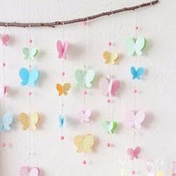 Бабочки в весеннем декоре...