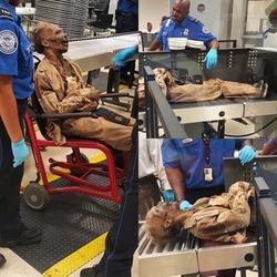 Сотрудники аэропорта досмотрели фальшивого покойника