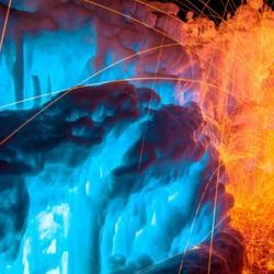 Волшебный замок льда и пламени