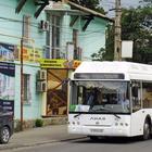 Новые автобусы и троллейбусы в Крыму