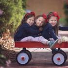 Тройная радость: 15 фотографий очаровательных малышек-тройняшек