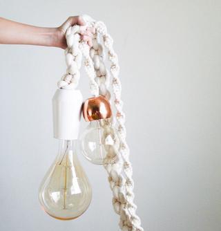 Гигантский подвесной светильник