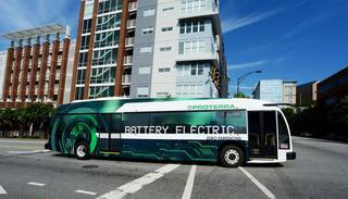 Электрический автобус Proterra - тысяча километров без подзарядки