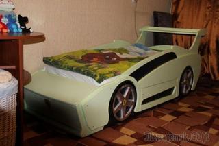 Кровать «Феррари» для мальчика