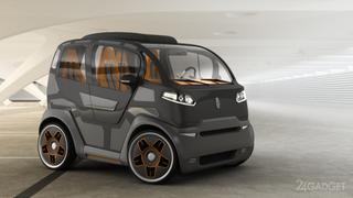 Городской мини-автомобиль от российских дизайнеров