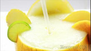 СМУЗИ ИЗ ДЫНИ ♥ очень вкусный и полезный напиток