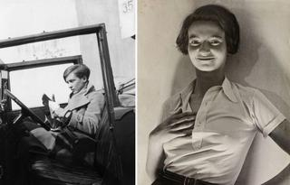 Странные ретро фотографии: девушки-сорванцы из 1930-х