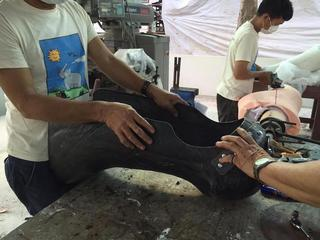Самый большой в мире протез: жизнь слонихи была спасена благодаря местному хирургу