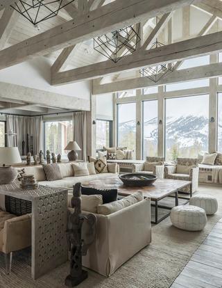 Идеальный горный дом в Монтане