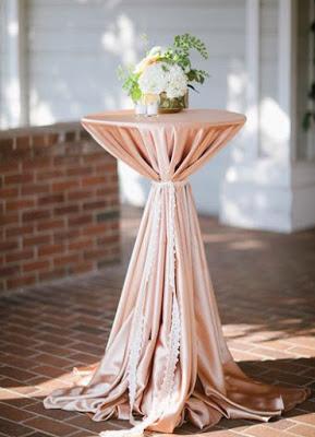 Красивая идея свадебного декора