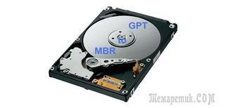 Как конвертировать MBR диск в GPT без потери данных