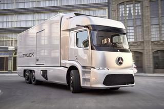 Mercedes-Benz представил электрический грузовик Urban eTruck