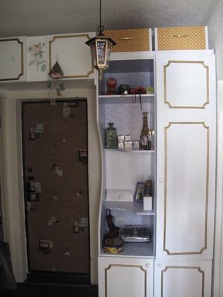 Из старого шифоньера-новый шкаф в прихожую!