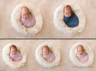 Пять за раз: фотосессия пятерых близнецов, родившихся в многодетной семье