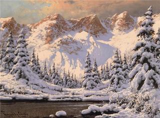 Зимние пейзажи художника LASZLO NEOGRADY