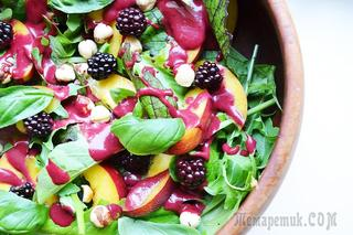 Летний салат с ежевикой и нектарином ☀ ЗДОРОВОЕ ПИТАНИЕ