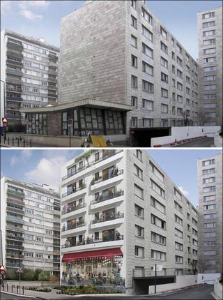 22 колоритных рисунка, ожививших на скучных фасадах домов во Франции