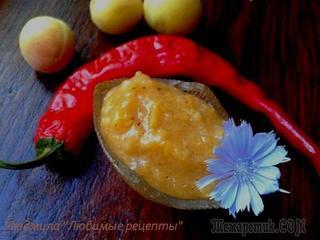 Чатни из абрикосов - кисло-сладкий соус.