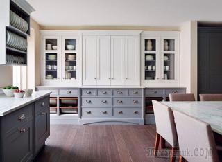 Системы хранения для кухни: 80 функциональных трендов, когда комфорт и дизайн неразделимы