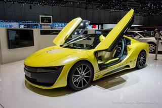 Машина будущего — Rinspeed Σtos Concept