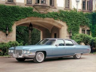 Король дорожных яхт: Cadillac Fleetwood Brougham, d'Elegance и Talisman