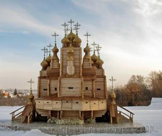 Воскресенский собор 1681 г. г. Кола. Мурманская обл. Не сохранилась