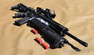В Канаде создали подствольный дробовик для винтовки
