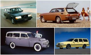 История универсалов Volvo в фотографиях