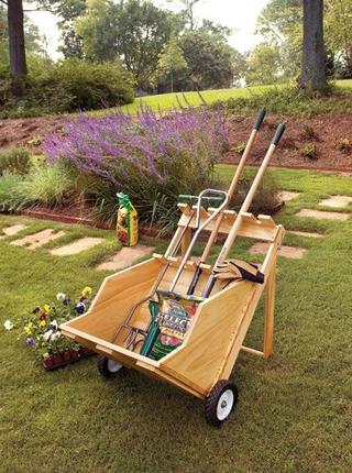 Удобные штучки для сада своими руками