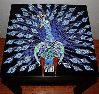 Роспись деревянной мебели