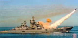 Российские ракеты «Гранит» - смертельная опасность для флота США..