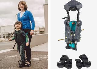 Счастье - просто ходить: мама изобрела «костюм» для ходьбы детей с диагнозом ДЦП