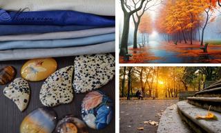 Создаем комплект «Осень в старом парке»