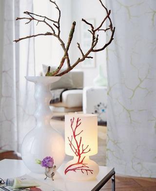Декор своими руками: сухие ветви в интерьере