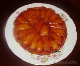 Грушевый пирог Тарт Татен-перевёртыш!Невероятно прост и вкусен!!
